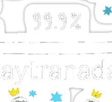 KAYTRANADA 99.9% Sticker