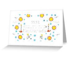 KAYTRANADA 99.9% Greeting Card