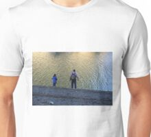 Enjoying the Lake Unisex T-Shirt