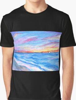 Flagler Beach Sunrise 2 Graphic T-Shirt