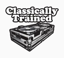 Classically Trained. Kids Tee