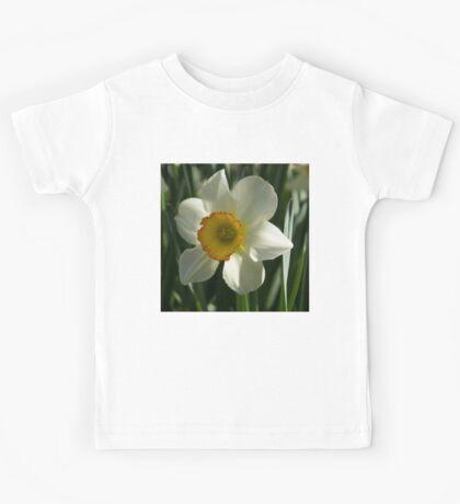 Poet's Daffodil Square Kids Tee