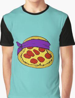 TMNT Pizza - Donatello Graphic T-Shirt