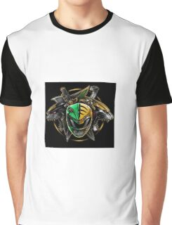 Green Ranger/ White Ranger Mix Graphic T-Shirt