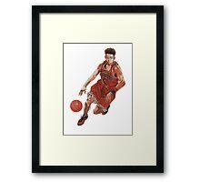 Slam Dunk - Ryota Framed Print