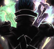 Sword Art Online Kirito Duel Wielding Sticker