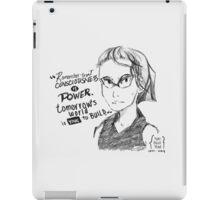 Yuri Kochiyama iPad Case/Skin