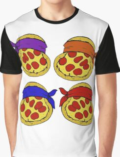 TMNT Pizza  Graphic T-Shirt