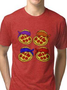 TMNT Pizza  Tri-blend T-Shirt