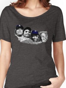 Dodgers Mt. Rushmore Women's Relaxed Fit T-Shirt