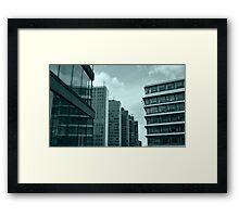 Office Buildings Framed Print
