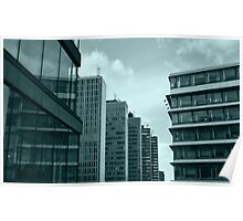 Office Buildings Poster
