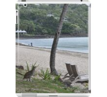 WALLABY AT THE BEACH iPad Case/Skin