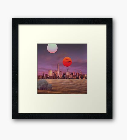 New Tatooine Framed Print