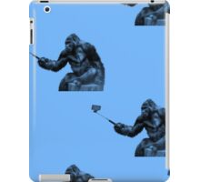 selfie stick iPad Case/Skin