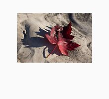 Deep Red Maple Leaf Unisex T-Shirt