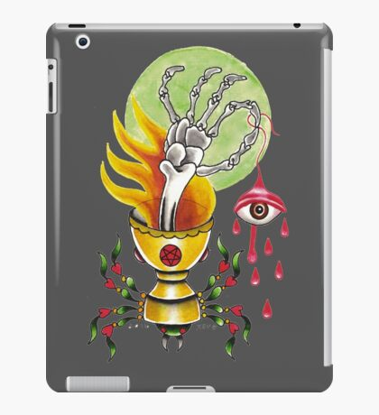 Goblet Of Fire  / black iPad Case/Skin
