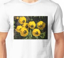 Exquisite Yellow Tulips Celebrating the Sun Unisex T-Shirt