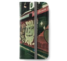Melbourne Streets and Alleys iPhone Wallet/Case/Skin