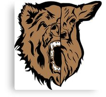 Beast (Bear and Deer) Canvas Print