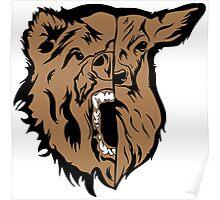 Beast (Bear and Deer) Poster