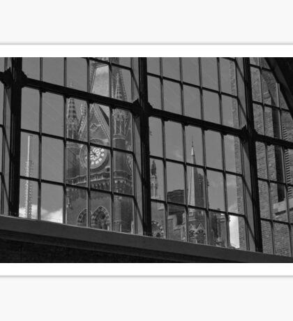 St Pancras Clock Tower Sticker