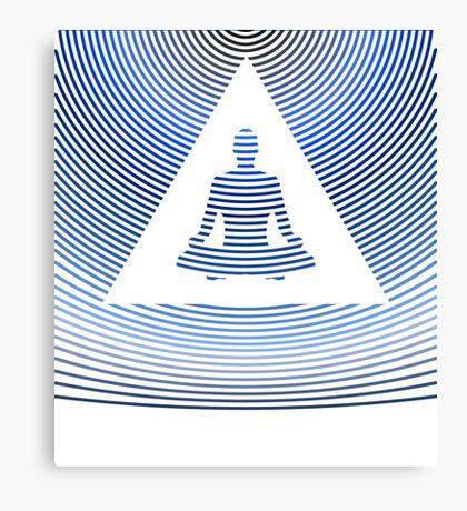 Digital Beings - Meditation Canvas Print