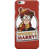 Where's Harry? iPhone Case/Skin