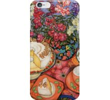 Cake and Snapdragons iPhone Case/Skin