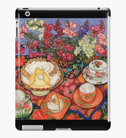 Cake and Snapdragons iPad Case/Skin