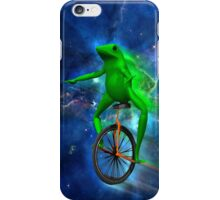 dat boi space shirt (high resolution) iPhone Case/Skin