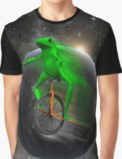 dat boi moon shirt (high resolution) Graphic T-Shirt