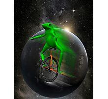 dat boi moon shirt (high resolution) Photographic Print