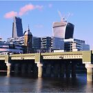 London Cityscape by Herbert Shin