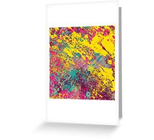 Abstract Texture Uno Greeting Card