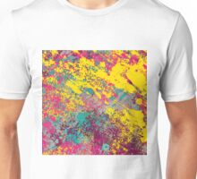 Abstract Texture Uno Unisex T-Shirt