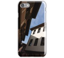 Sun and Shade - Elegant Revival Houses in Old Town Plovdiv, Bulgaria - Vertical iPhone Case/Skin