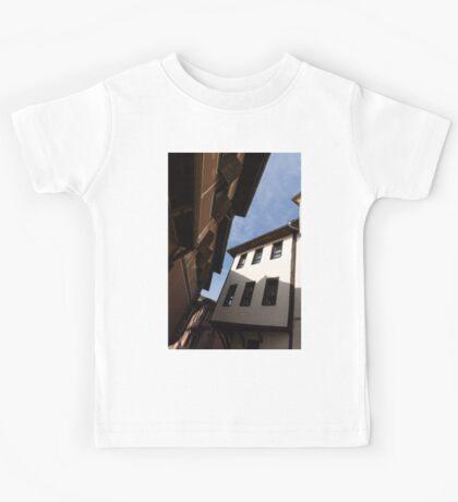 Sun and Shade - Elegant Revival Houses in Old Town Plovdiv, Bulgaria - Vertical Kids Tee