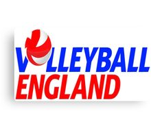Team England Volleyball UK Canvas Print