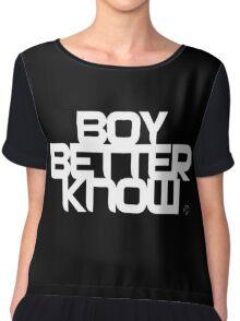 BBK | Boy Better Know Chiffon Top
