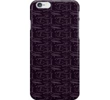 Purple Circuits iPhone Case/Skin