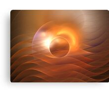 Dawn Waves Canvas Print