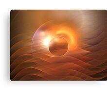 Dawn Waves Canvas Print