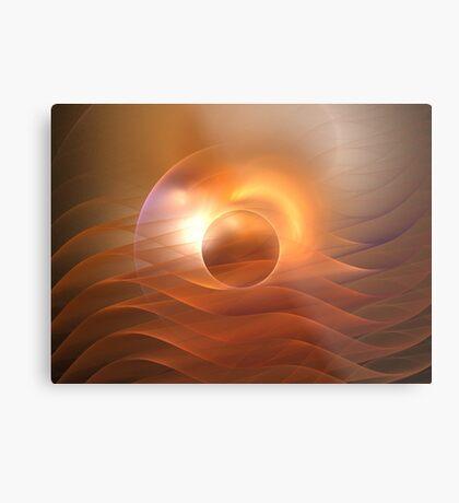 Dawn Waves Metal Print