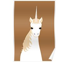 UNICORN PORTRAIT Poster