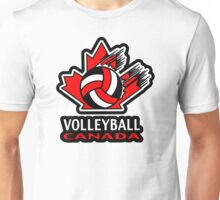 Team Canada  Volleyball Unisex T-Shirt