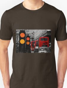 London Traffic Reds Unisex T-Shirt