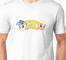 Whooves Line Is It Anyway?  Unisex T-Shirt
