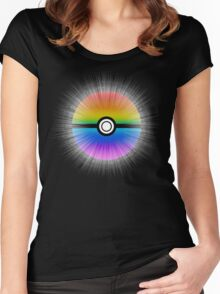 Catch the rainbow! Women's Fitted Scoop T-Shirt