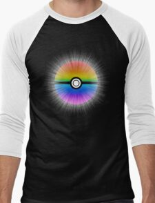 Catch the rainbow! Men's Baseball ¾ T-Shirt